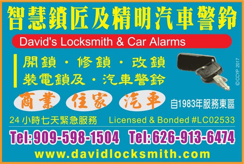 David S Locksmith Car Alarms