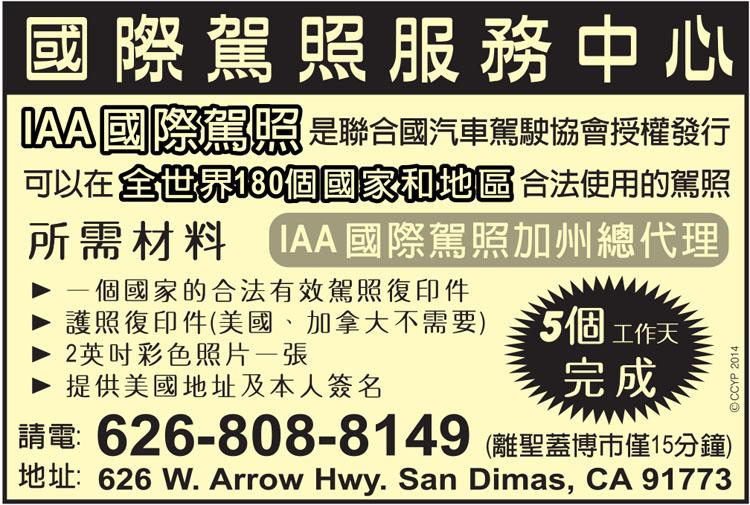 加州驾照翻译模板